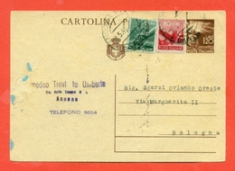 INTERI POSTALI. C 127 - Storia Postale