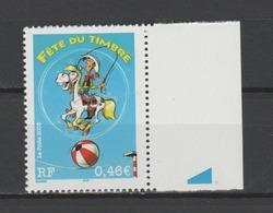 FRANCE / 2003 / Y&T N° 3546 ** : Fête Du Timbre (Lucky Luke 0.46€) De Feuille BdF - Gomme D'origine Intacte - France
