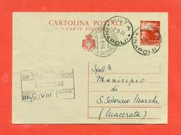 INTERI POSTALI. C 128/A - Storia Postale
