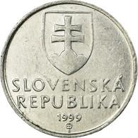 Monnaie, Slovaquie, 10 Halierov, 1999, TTB, Aluminium, KM:17 - Eslovaquia