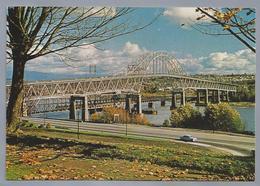 CA.- NEW WESTMINSTER, B.C. CANADA. PUTTULLO BRIDGE. BRUG. OLD CAR. - Brits-Columbia