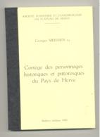 Cortège Des Personnages Historiques Et Pittoresques Du Pays De Herve Par G. MEESSEN - 1980 (SL) - Belgique