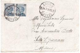 ANNULLO LECCO 20 - 111 - Storia Postale