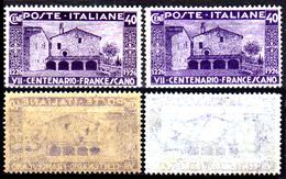 Italia-A-0106 - Emissione 1926 (++) MNH - Decalco - Senza Difetti Occulti. - 1900-44 Vittorio Emanuele III