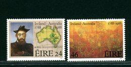 IRLANDA EIRE - MNH NUOVI PERFETTI - 1988   BICENTENARIO  AUSTRALIA - 1949-... Repubblica D'Irlanda
