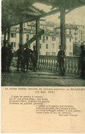 Veneto - Vicenza - Bassano - La Prima Bomba Lanciata Da Aereo Austriaco Su Bassano (18.9.1915)  - - Vicenza