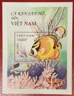 VIETNAM VIET NAM 2006 - FISHES FISH POISSONS RARE SHEET BLOC BLOCK MNH - Fishes