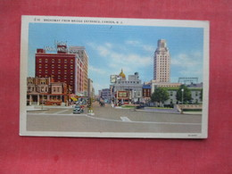 Broadway From Bridge Entrance    Camden    New Jersey          -ref    3571 - Camden