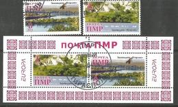 PMR 2011- EUROPA CEPT, MOLDAVIA PMR, 1 X 2v + S/S, Used - Vignetten (Erinnophilie)