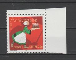 FRANCE / 2005 / Y&T N° 3778 ** : Anniversaire (Bécassine) TVP LP De Feuille CdF Sup D - Gomme Intacte - France