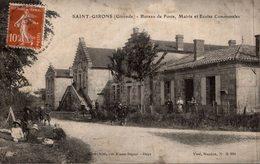 SAINT GIRONS BUREAU DE POSTE MARIE ET ECOLES COMMUNALES - France