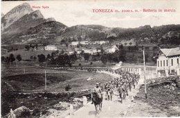 Veneto - Vicenza - Tonezza M. 1.000 - Batteria In Marcia - Guerra 15/18  - - Vicenza