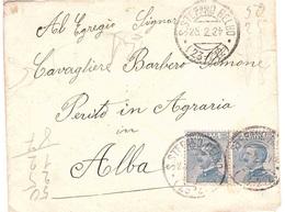 ANNULLO S.STEFANO BELBO ( 23 - 212 ) - Storia Postale
