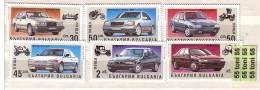 1992 AUTOMOBILES   6 V.-MNH BULGARIA / Bulgarie - Bulgarije