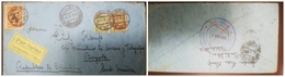 O) 1925 GERMANY, SCADTA OFFICE IN BERLIN, SCADTA PLANE OVER RIVER MAGDALENA  60c, EAGLE MAN, CANCELLATION BARRANQUILLA, - Germany