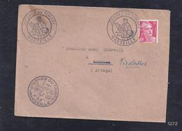 Enveloppe Locale Journee Du Timbre 1946 Marseille Gandon - France