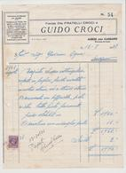 ALBESE CON CASSANO, DITTA .FRATELLI CROCI & FIGLI-CHIOSCHI ARTISTICI PER GIARDINI.1938 - Italia