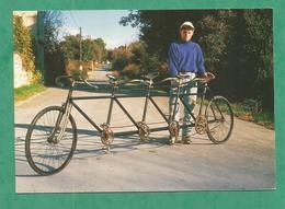 CARTE POSTALE CPM  CYCLE VELO QUADRIPLETTE - Cyclisme
