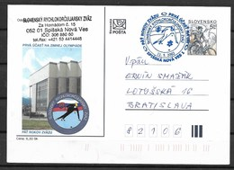 E-695-SLOVAKIA-WINTER OLYMPIC GAMES SALT LAKE CITY 2002-POST CARD - Winter 2002: Salt Lake City