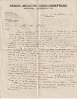L Amsterdam 1916, Correspondances Par Passeur Ou Petites Annonces (lire) - Military Post