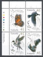 Canada 1995. Scott #1567a U.L. (MNH) Migratory Wildlife ** Complet Set - Unused Stamps
