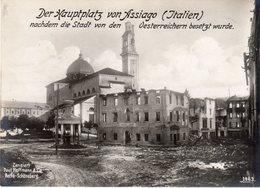 Veneto - Vicenza - Asiago - La Piazza Principale Di Asiago ( Dopo Occupazione Austriaca ?) - Guerra 15/18  - - Vicenza