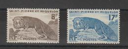 Saint Pierre Et Miquelon 1952 Renard 345-6 2 Val ** MNH - St.Pierre & Miquelon
