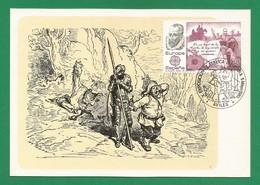 Spanien 1983 Mi.Nr. 2585 , EUROPA CEPT Große Werke Des Menschlichen Geistes -Maximum Card - Ausgabe AVILES 5 Mayo 1983 - 1983