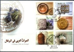 PORTUGAL, 2001, THE ARAB HERITAGE IN PORTUGAL, CE#2756-61, FDC - FDC