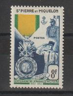 Saint Pierre Et Miquelon 1952 Médaille Militaire 347 ** MNH - Ongebruikt