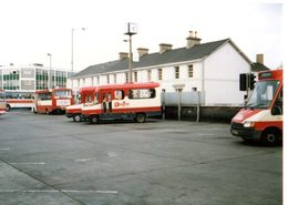 35mm ORIGINAL PHOTO BUS UK COUNTRY BUS NEWTON DEVON BAYLINE FORD - F155 - Photographs