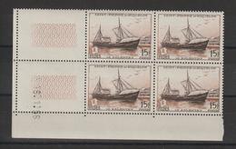 Saint Pierre Et Miquelon 1956 Fides Chalutier 352 Coin Daté ** MNH - Unused Stamps