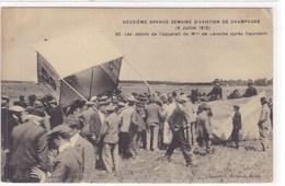 Deuxième Grande Semaine D'Aviation De Champagne (8 Juillet 1910) - Les Débris De L'appareil De Mme De Laroche - ....-1914: Vorläufer