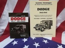 PROMO Le Best Du DODGE WC : Manuel Technique 2018 + BECKER USA WW2 Militaria - Vehicles