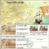 TIMBRE - FRANCE - BLOC SOUVENIR N° 2307 Du 450° Anniversaire Du Premier Voyage De Jacques Cartier St Malo - Blocs Souvenir