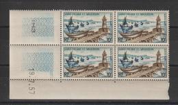 Saint Pierre Et Miquelon 1957 Phare 357 Coin Daté ** MNH - Neufs