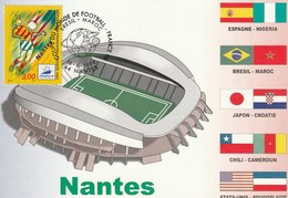 CP. STADE. NANTES FRANCE LA BEAUJOIRE  #  02/98 - Soccer