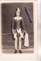 CPA PHOTO - 75 - PARIS (14ème) - BAL BULLIER MI-CAREME 1928 Cachet Au Verso BEAU PORTRAIT De JEUNE FILLE Déguisée - Distretto: 14