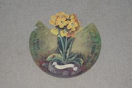 Fromage Suisse Cheese Chalet N°6 Primula Flora Alpina Illus. Coray Petite Coccinelle Foncé - Flowers