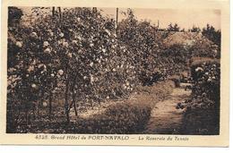 GRAND HOTEL DE PORT NAVALO - LA ROSERAIE DU TENNIS - CPA MORBIHAN - France