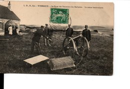 WIMEREUX Le Poste Des Douaniers Des Rochettes Le Canon Lance-amarre - Sonstige Gemeinden
