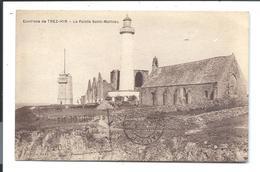 PHARE Pointe St Mathieu - Environs Du TREZ HIR En PLOUGONVELIN - LE BARS éditeur (1930) - VENTE DIRECTE X - Plougonvelin