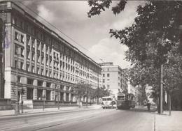 POLAND - Warszawa 1960 - Ulica Marszalkowska - Tramway No 4 - Pologne