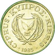 Monnaie, Chypre, 2 Cents, 1985, TTB, Nickel-brass, KM:54.2 - Cyprus