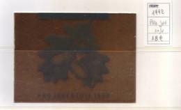 Svizzera 1992 - Pro Juventute - Libretto 10v MNH** Integro - Nuovi