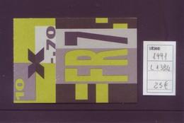 Svizzera 1991 - Coniglio - Libretto 10v - L1364  MNH** Integro - Nuovi