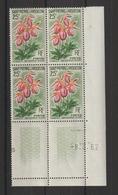Saint Pierre Et Miquelon 1962 Fleurs 362 Coin Daté ** MNH - St.Pierre & Miquelon