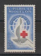 Saint Pierre Et Miquelon 1963 Croix Rouge 369 ** MNH - St.Pierre & Miquelon