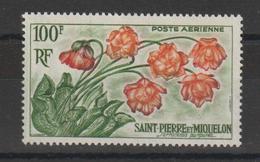 Saint Pierre Et Miquelon 1962 Plante PA 27 ** MNH - Airmail