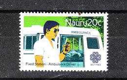 Nauru   - 1983.  Autoambulanza.The Ambulance. MNH - Automobili